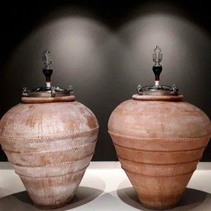 Amphora aged wines