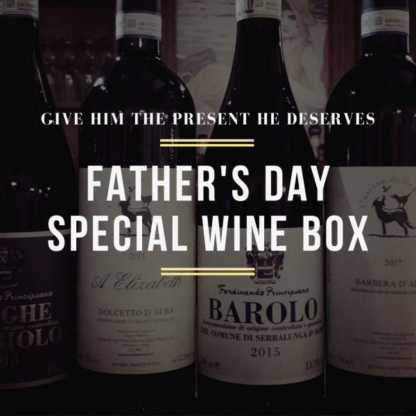 Father's Day Wine Box Promotion