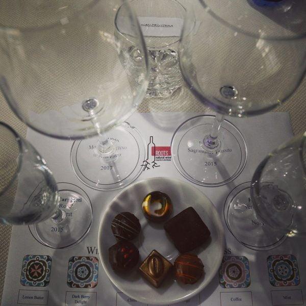 Wine and chocolate tasting Malta Team Building
