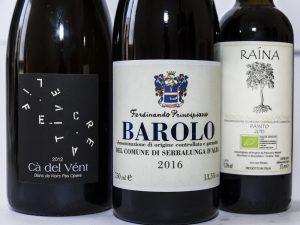 Premium wines selection