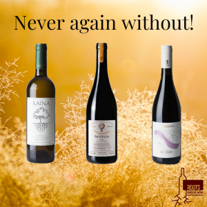 Never again without - Special wine box